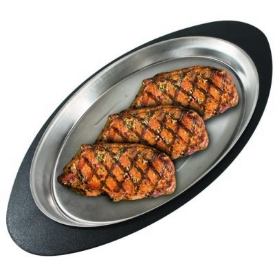 Овальное блюдо для стейка Broil King