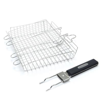 Решетка для приготовления, стальная, с ручкой, 25 х 30 х 6,25 см Broil King
