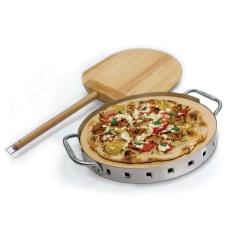 Набор для пиццы (камень, лопата, форма с ручками) Broil King